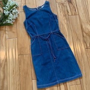 Ann Taylor LOFT Denim Dress